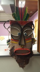 Ateliers création de masques pour Cavalcade