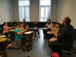 Ateliers percussions 2